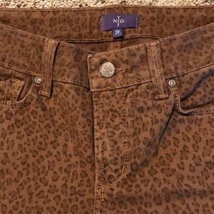 NYDJ Leopard Print Ankle pants
